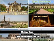 Best Tourist Places in Lucknow, India - HolidayKeys.co.uk