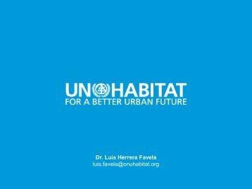 Dr Luis Herrera Favela luis.favela@onuhabitat.org