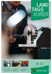 Landtagskurier, Ausgabe 8/2015