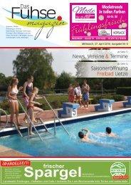 Fuhse-Magazin 8/2016
