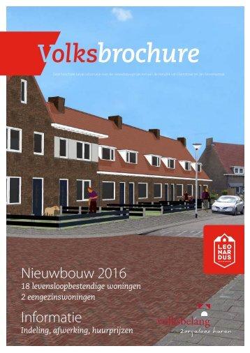 Nieuwbouw 2016 Informatie