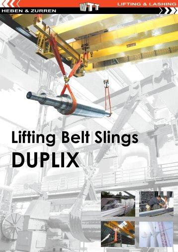 Brochure Lifting Belt Slings