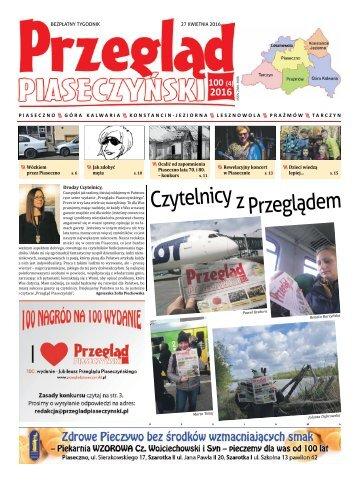Przegląd Piaseczyński, Wydanie 100