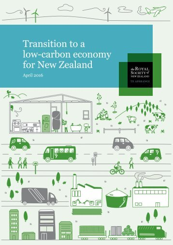 Transition to a low-carbon economy for New Zealand