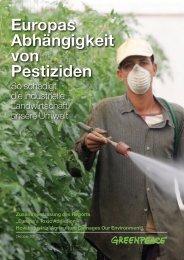 Europas Abhängigkeit von Pestiziden