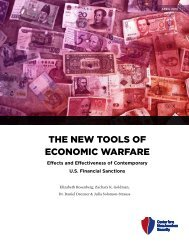 THE NEW TOOLS OF ECONOMIC WARFARE