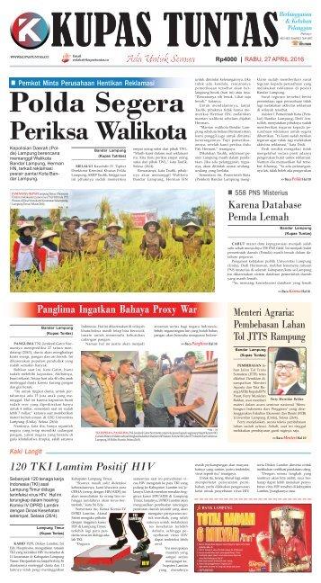 Edisi 27 April 2016