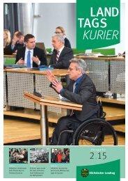 Landtagskurier, Ausgabe 2/2015