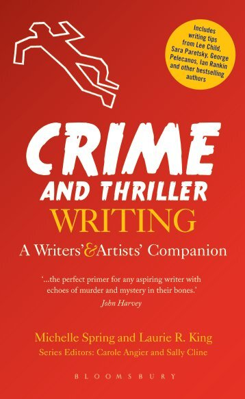 Crime and Thriller Writing Sample Chapter