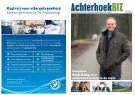 Interview Henk Kamp over ondernemerschap in de regio