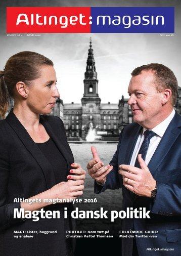Magten i dansk politik