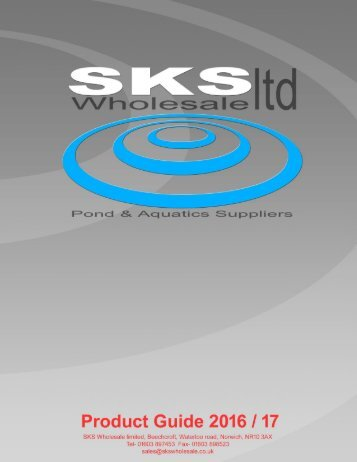 SKS Catalogue 2016
