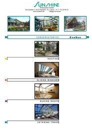 EcoSun energy saving conservatory