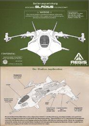 Aegis Dynamic Gladius-Manual - Deutsch