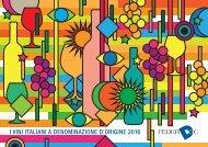 I VINI ITALIANI A DENOMINAZIONE D'ORIGINE 2016