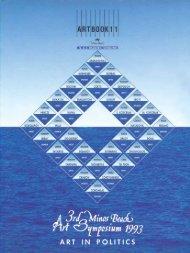 MINOS BEACH 1993 ART SYMPOSIUM