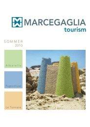 tourism MARCEGAGLIA - Albarella S.p.A
