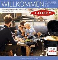 Trendmagazin für Frankfurt und Umgebung Ausgabe April – Juni 2016
