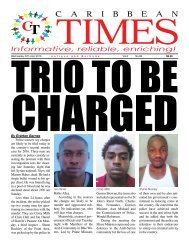 Caribbean Times 98th issue - Wednesday 27th April 2016