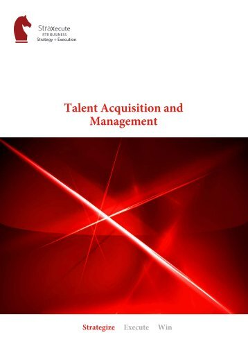 Talent Acquisition and Management