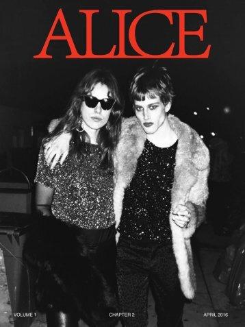 Alice Magazine NYC - Chapter 2