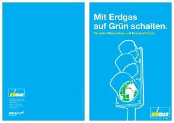 Mit Erdgas auf Grün schalten.