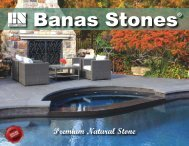 Banas Stones 2016 Catalogue