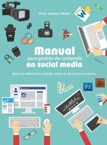 Manual para gestión de contenido en Redes Sociales