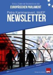 Infobrief der Europaabgeordneten Petra Kammerevert - Ausgabe: April 2016 Nr.4