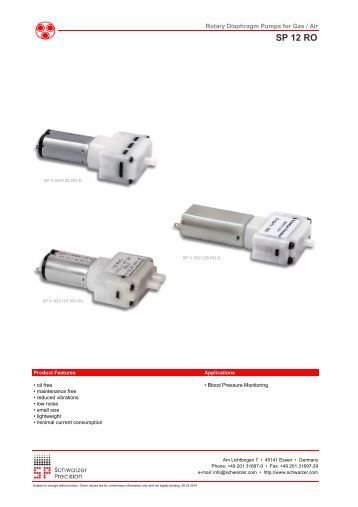 The Vibrating Armature Pumps For Liquids Sp 100 Sa L From