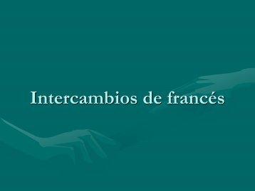 Intercambios de francés