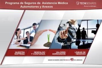 Automotores y Anexos Charla General 2015-2016. Seguro médico