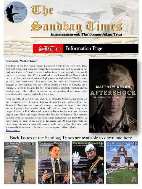 The Sandbag Times  Issue No: 15