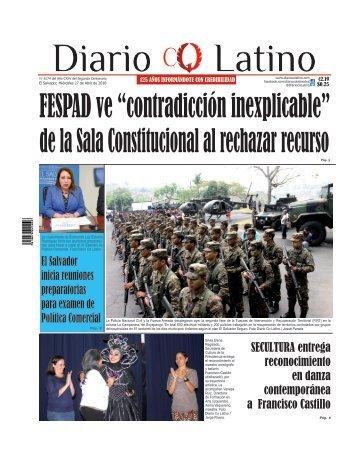 Edición 27 de Abril de 2016