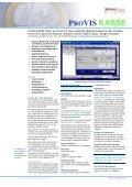 PROVIS KASSE KASSE - CRT software - Seite 3