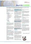 PROVIS KASSE KASSE - CRT software - Seite 4