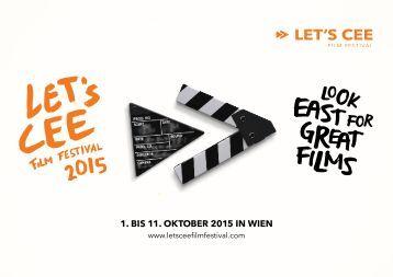 Katalog LET'S CEE Film Festival 2015