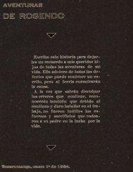 Aventuras de Rosendo, 1934