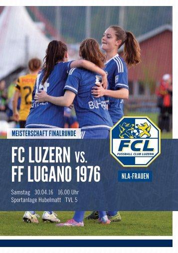 FCL-Frauen Matchprogramm 09