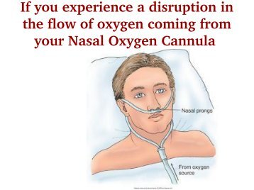 Use Nasal Oxygen Cannula with best instructions  sc 1 st  Yumpu & Administering Oxygen by Cannula Face Mask or Face Tent Check