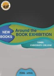 New Books Around the Book Exhibition