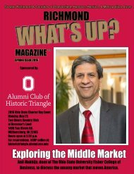 Ohio State Alumni 2016 Charter Day Event  - Spring 2016 Issue Richmond