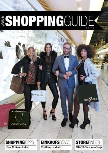 SHOPPINGGUIDE F/S 2016