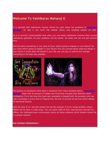 Vashikaran Specialist in Delhi, Black Magic Specialist in Delhi