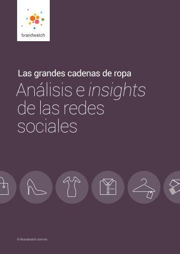 Análisis e insights de las redes sociales
