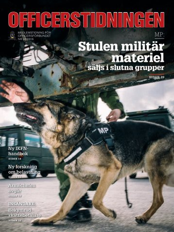 Stulen militär materiel