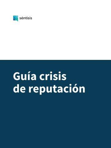Guía crisis de reputación