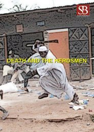 DEATH AND THE HERDSMEN