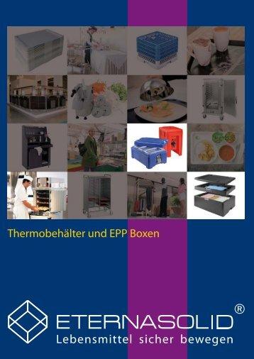 ETERNASOLID® - Thermobehälter und EPP-Boxen