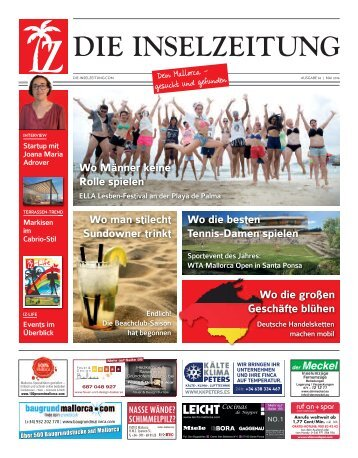 Die Inselzeitung Mallorca Mai 2016